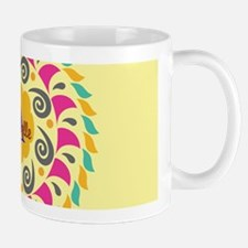 Yellow Personalized Monogram Mugs