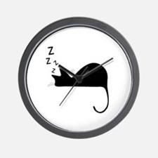 Cute Sleep Wall Clock