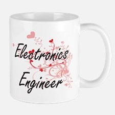 Electronics Engineer Artistic Job Design with Mugs