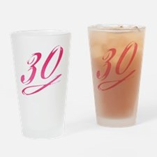 Unique 30th birthday for her Drinking Glass