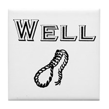 Well hung Tile Coaster