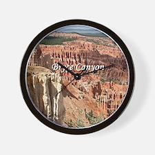 Bryce Canyon, Utah 21 (caption) Wall Clock