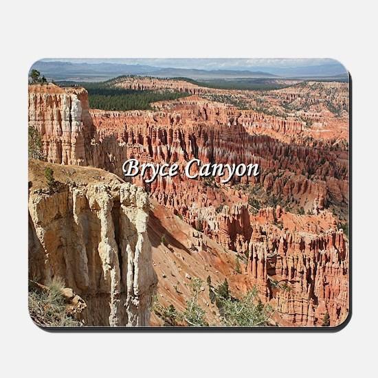Bryce Canyon, Utah 21 (caption) Mousepad