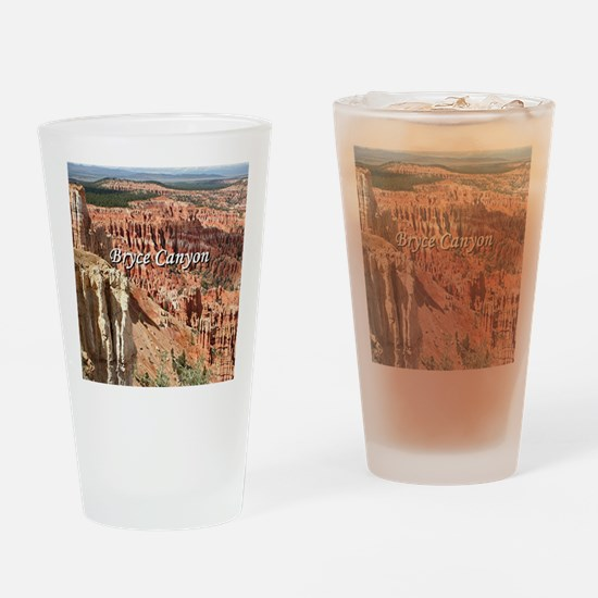 Bryce Canyon, Utah 21 (caption) Drinking Glass