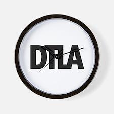 DTLA Forever Wall Clock