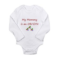 Cute Baby doctors Long Sleeve Infant Bodysuit