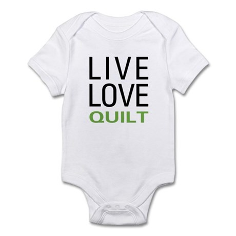 Live Love Quilt Infant Bodysuit