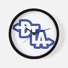Downtown Los Angeles Way Wall Clock