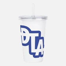 Downtown Los Angeles W Acrylic Double-wall Tumbler
