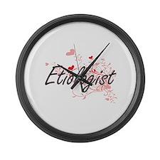 Etiologist Artistic Job Design wi Large Wall Clock