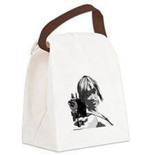 Cute Fantasy and scifi and anime Canvas Lunch Bag
