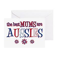 Aussie Mums Greeting Card