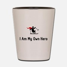 Adaptive Skiing Hero Shot Glass