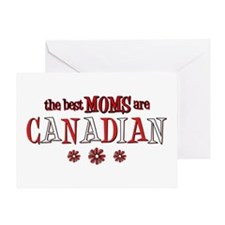 Canadian Moms Greeting Card