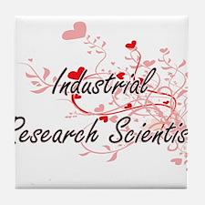 Industrial Research Scientist Artisti Tile Coaster