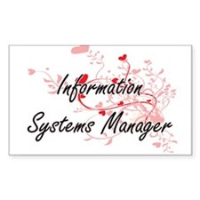 Information Systems Manager Artistic Job D Decal