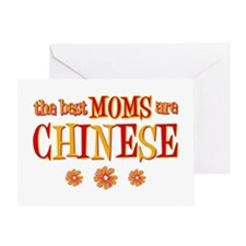 Chinese Moms Greeting Card