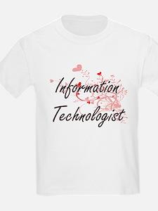 Information Technologist Artistic Job Desi T-Shirt