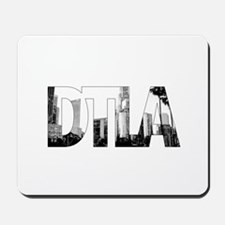 Downtown Los Angeles DTLA Classic Skylin Mousepad