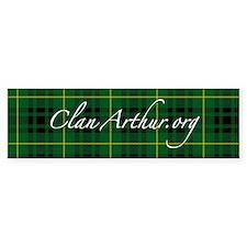 Clan Arthur - Just Tartan Bumper Bumper Sticker