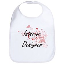 Interior Designer Artistic Job Design with Hea Bib