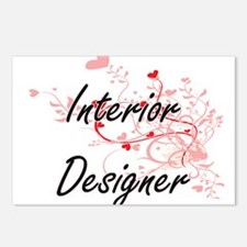Interior Designer Artisti Postcards (Package of 8)
