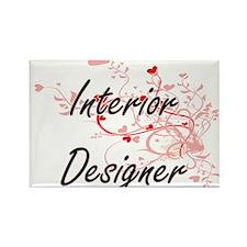 Interior Designer Artistic Job Design with Magnets