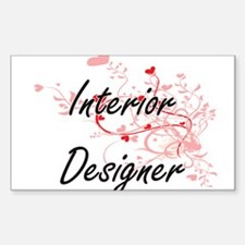 Interior Designer Artistic Job Design with Decal