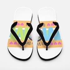 Very Best Mom Flip Flops