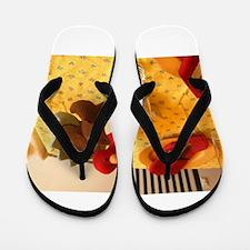 Turkey Thanksgiving Flip Flops