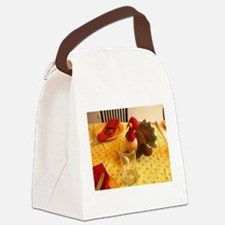 Turkey Thanksgiving Canvas Lunch Bag