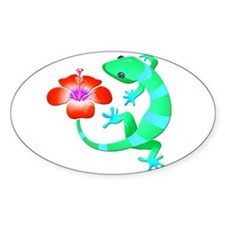 Blue and Green Jungle Lizard with Orange H Decal