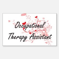 Occupational Therapy Assistant Artistic Jo Decal