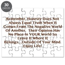 Opinions Aren't Truth Puzzle