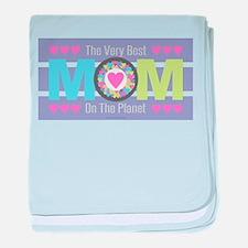 Very Best Mom baby blanket