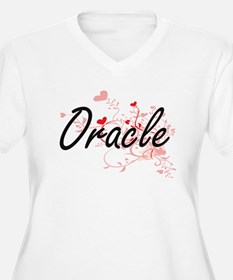 Oracle Artistic Job Design with Plus Size T-Shirt