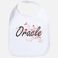 Oracle Artistic Job Design with Hearts Bib