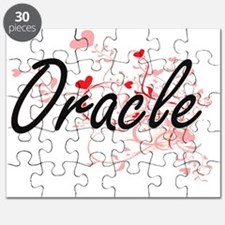 Oracle Artistic Job Design with Hearts Puzzle