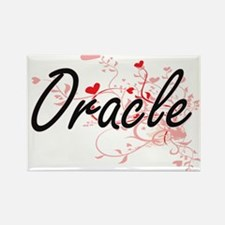 Oracle Artistic Job Design with Hearts Magnets