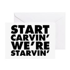 Start Carvin' We're Star Greeting Cards (Pk of 20)