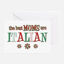 Italian Moms Greeting Card