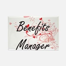 Benefits Manager Artistic Job Design with Magnets
