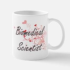 Biomedical Scientist Artistic Job Design with Mugs