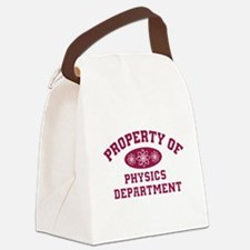Property Of Physics Department Canvas Lunch Bag