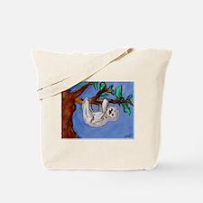 Paradise Sloth Tote Bag