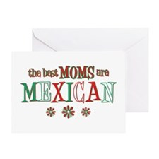 Mexican Moms Greeting Card