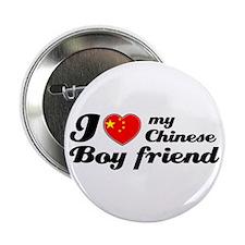 I love my Chinese boyfriend Button