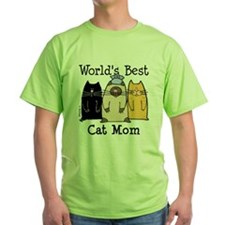 Cute Cat mom T-Shirt