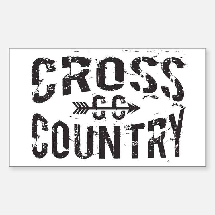 cross country Decal