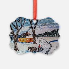 Firewood Ride Ornament